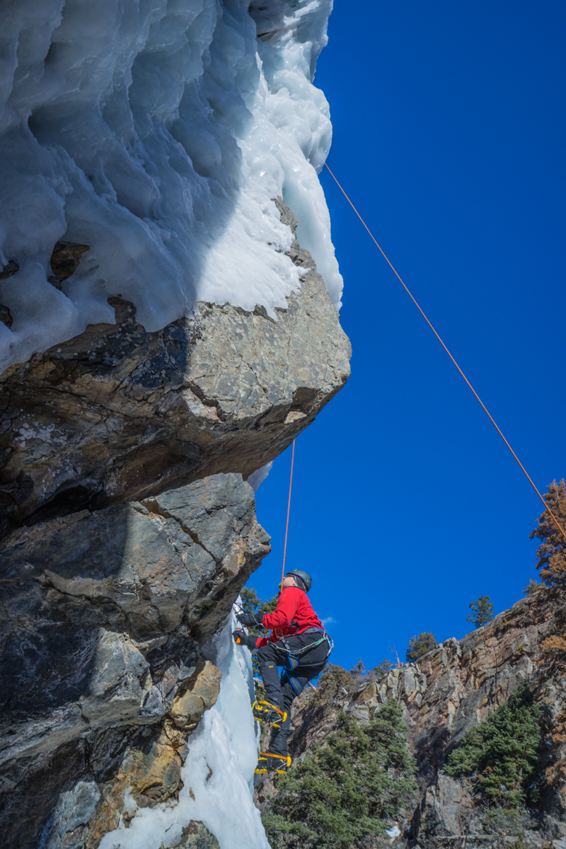 Ouray Colorado ice climbing adventure trip-16