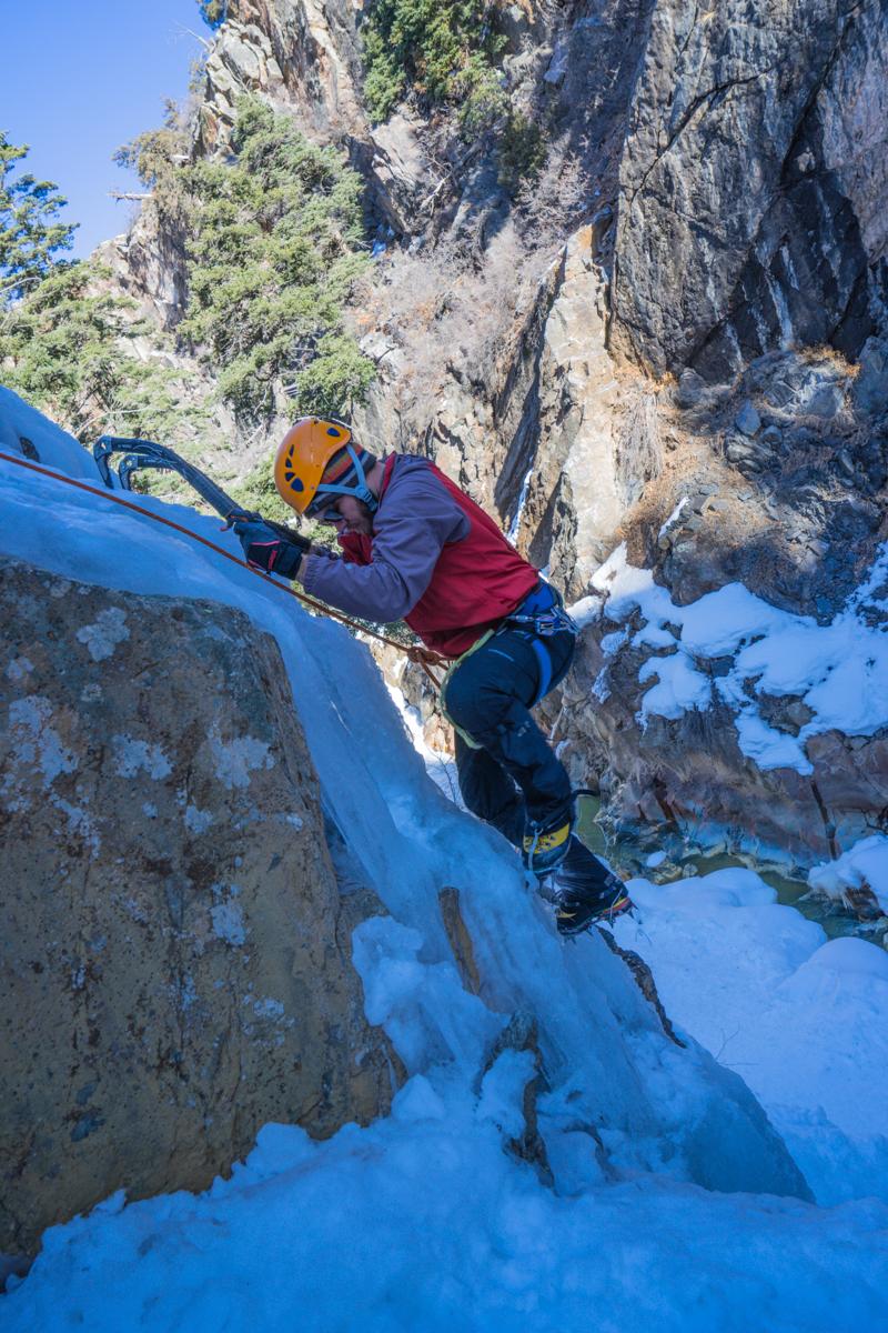Ouray Colorado ice climbing adventure trip-5