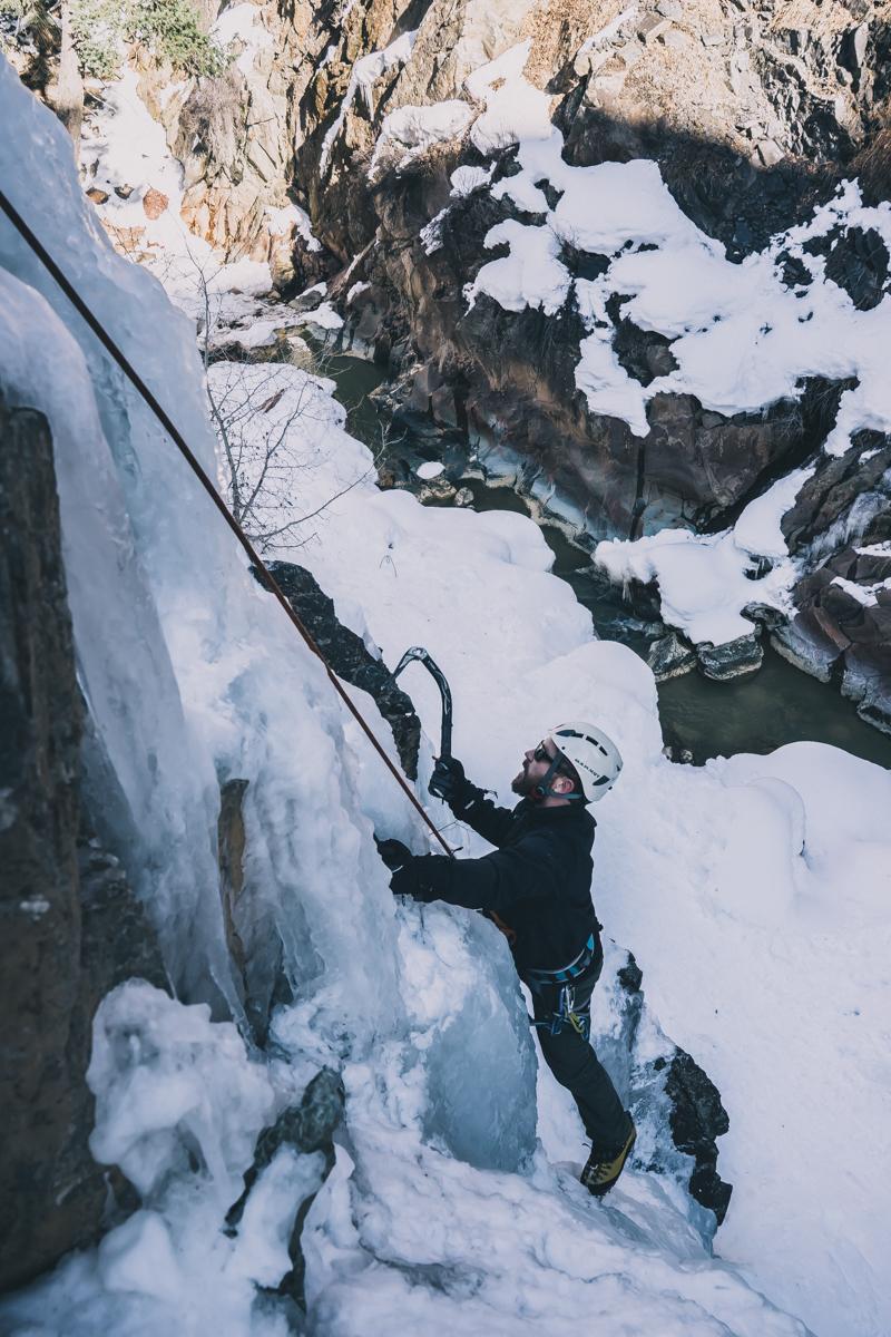 Ouray Colorado ice climbing adventure trip-8