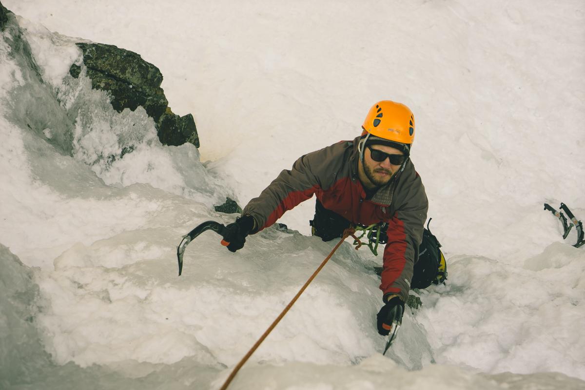 Ouray Colorado ice climbing adventure trip